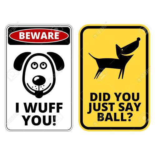 Medium Crop Of Beware Of Dog Signs
