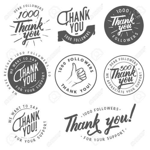 Medium Of Thank You Stickers
