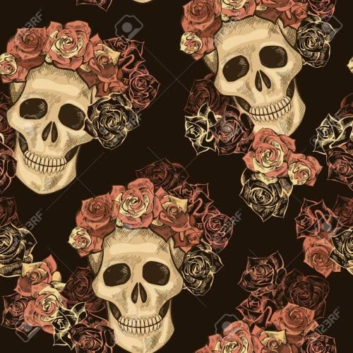 Medium Crop Of Dia De Los Muertos Wallpaper