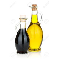 Small Crop Of Oil And Vinegar Bottles