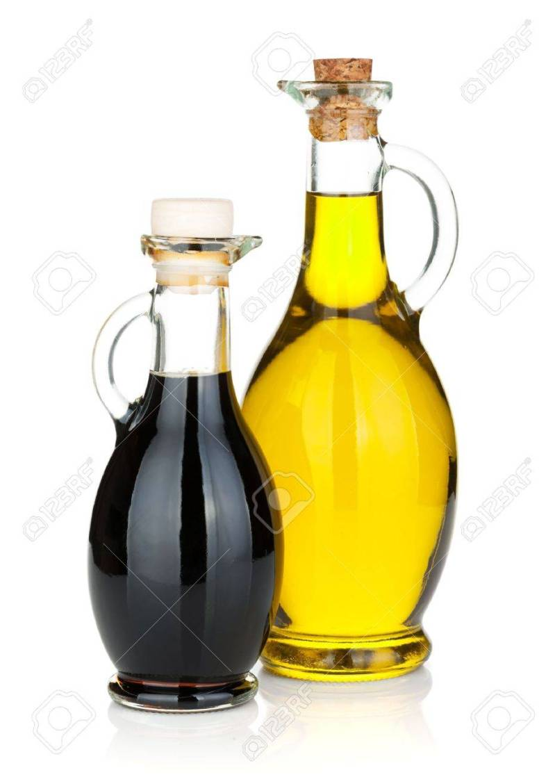 Large Of Oil And Vinegar Bottles