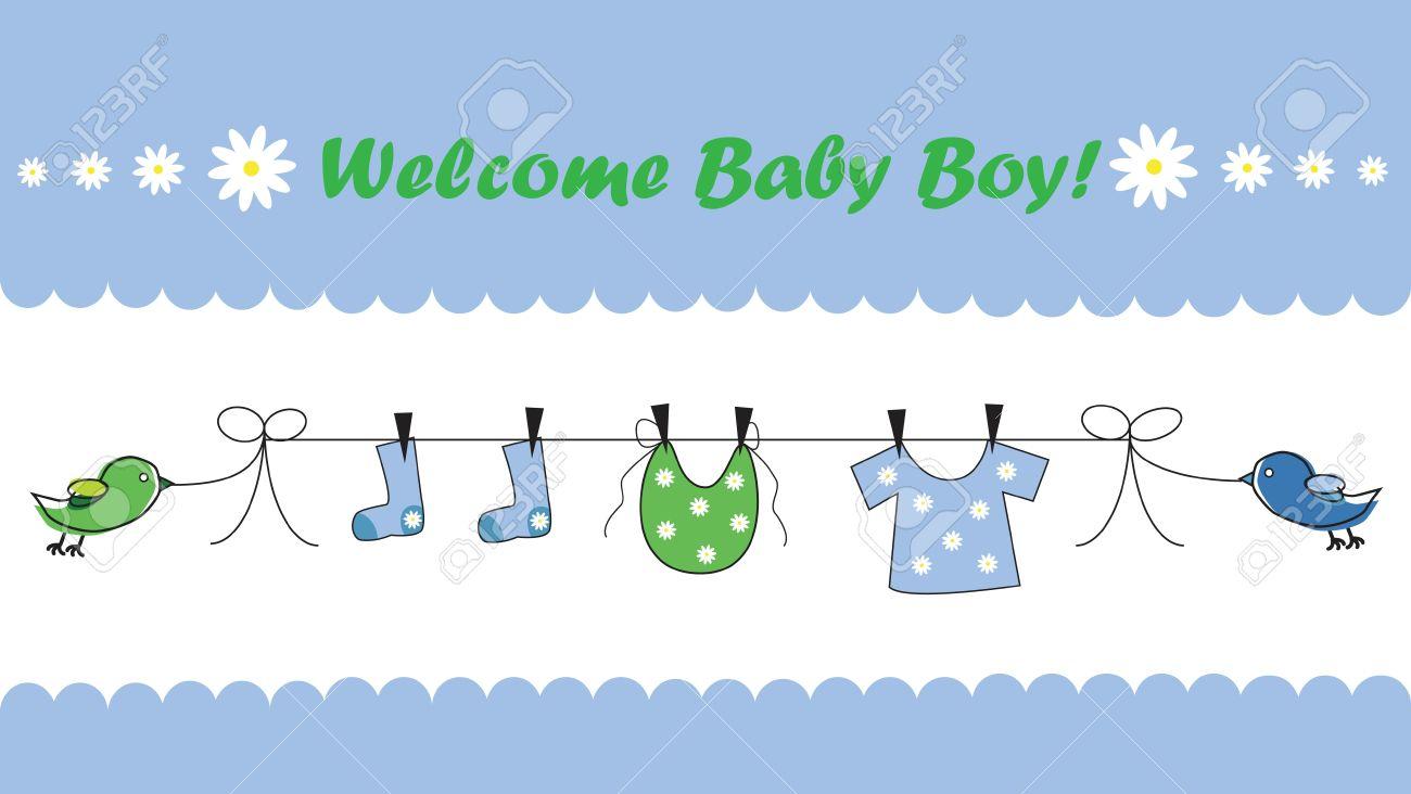 Fullsize Of Welcome Baby Boy