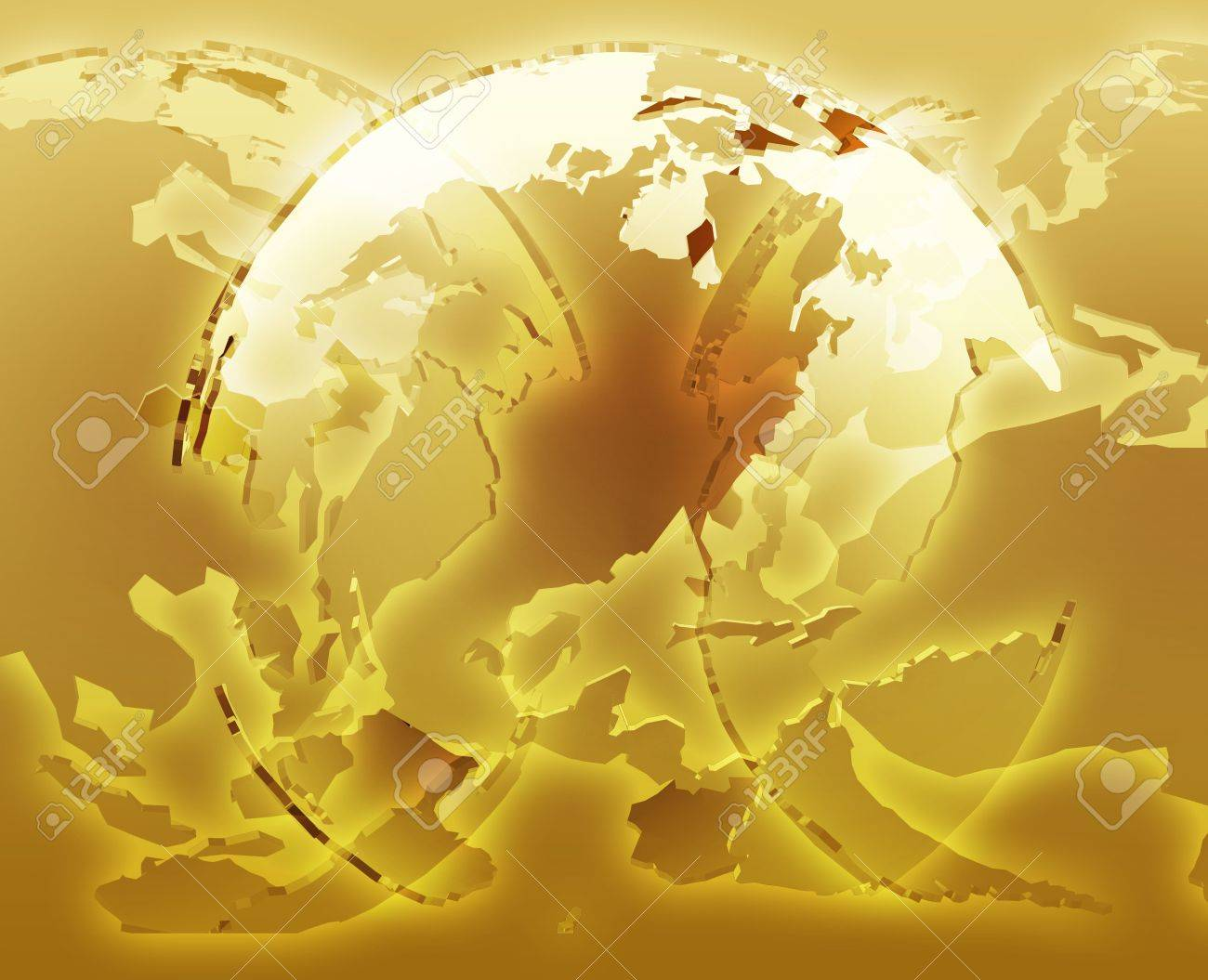 Glowing Translucent World Map Globes  Americas  Asia  Europe     Glowing translucent world map globes  Americas  Asia  Europe  Africa Stock  Photo