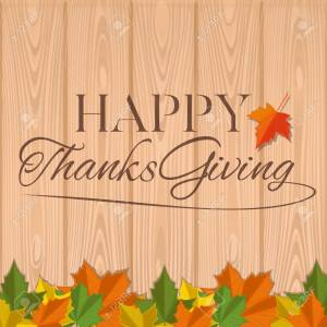 Genial Autumn Background Thanksgiving Happy Thanksgiving Greeting Thanksgiving Happy Thanksgiving Greetinginscription On A Wooden Vector Autumn Background