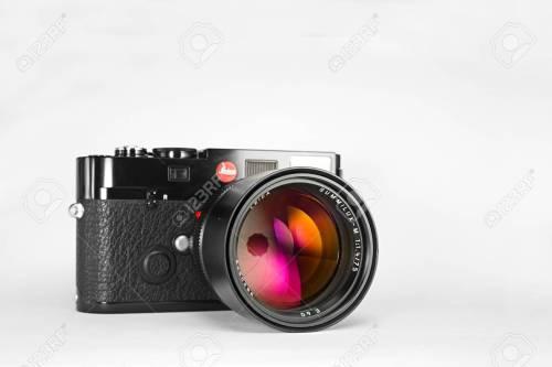 Medium Of Leica Film Camera