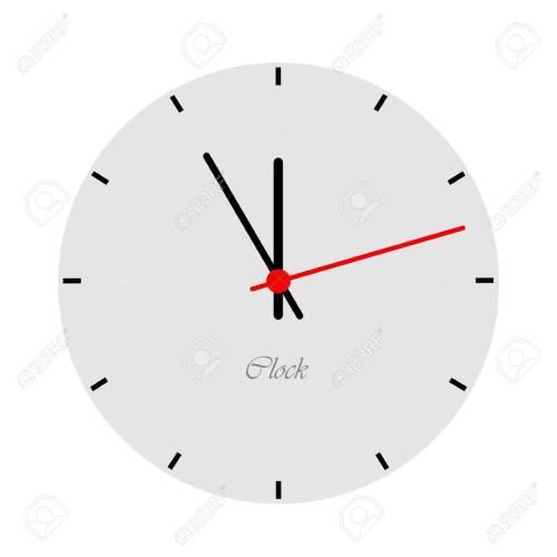 Medium Crop Of Modern Clock Face