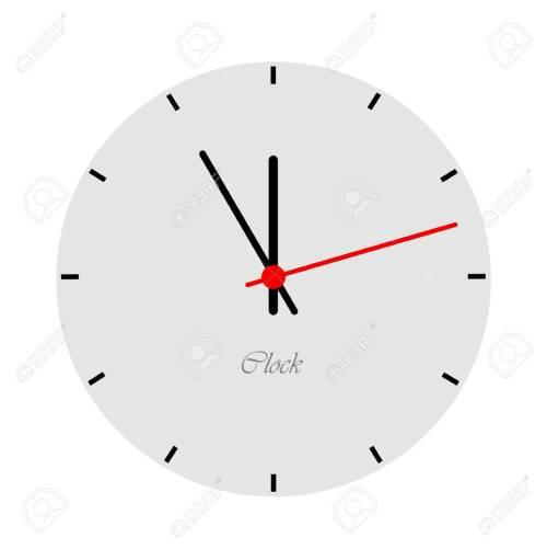 Medium Of Modern Clock Face