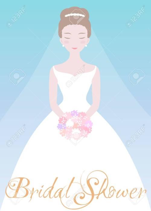 Medium Of Bridal Shower Invitation Templates