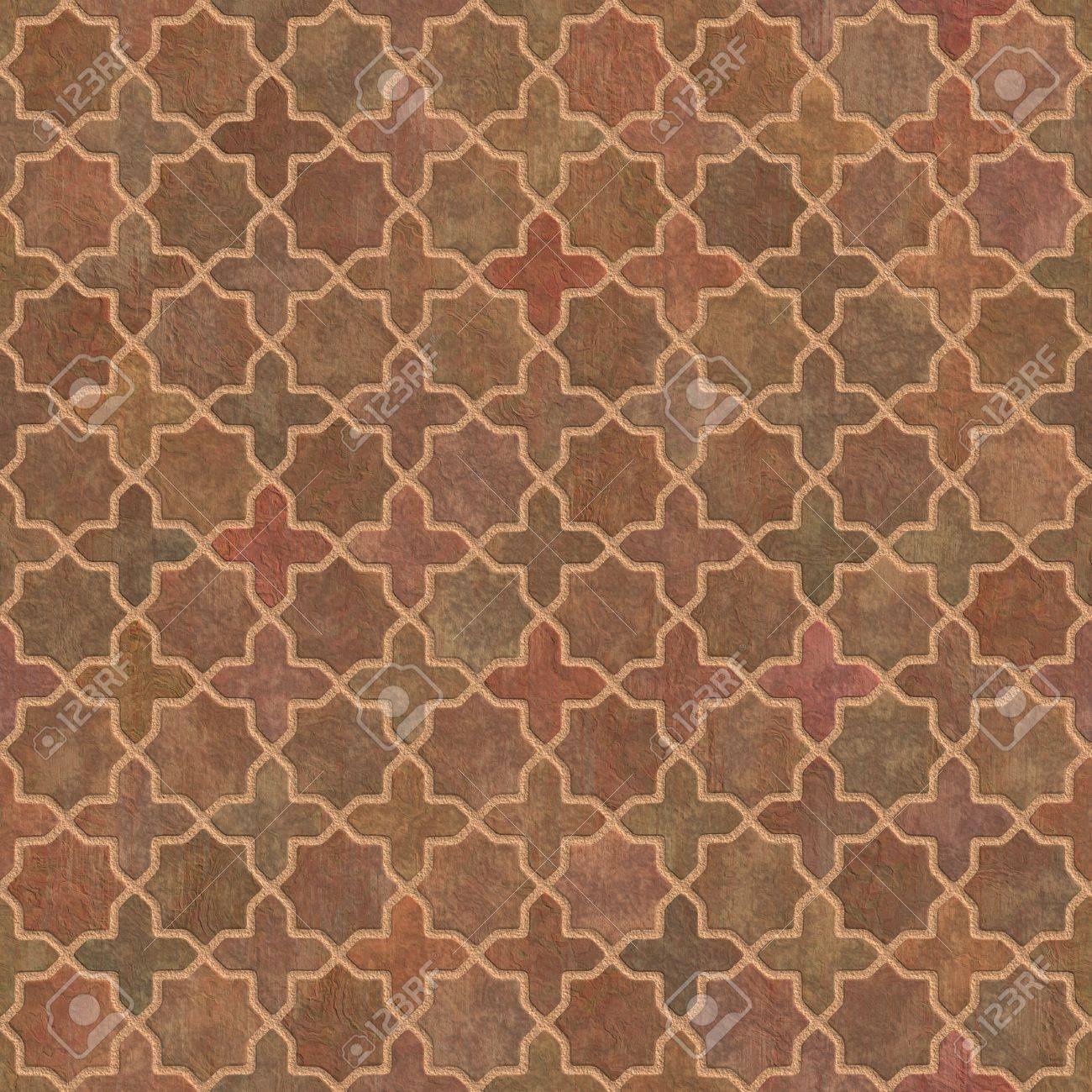 Floor Tileable Pavement Terracotta Tiles Geometric Pattern Seamless Tileablebackground Stock Photo Pavement Terracotta Tiles Geometric Pattern Seamless houzz 01 Terra Cotta Tile