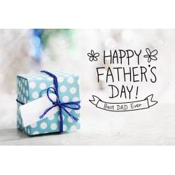 Small Crop Of Fathers Day Message