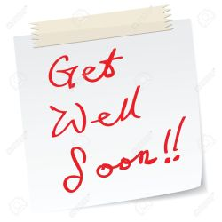 Best Handwriting Stock Get Well Soon Message On A Paper Child Coworker Get Well Messages Get Well Soon Message On A Paper Handwriting Message Get Well Messages