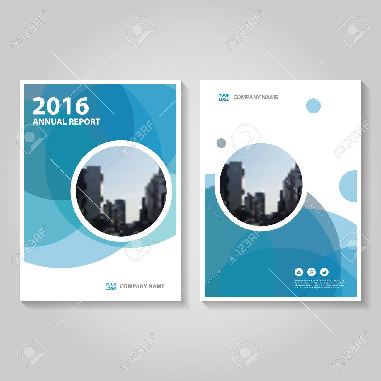 Circle Blue Polygon Annual Report Leaflet Brochure Template Design     Circle blue polygon annual report Leaflet Brochure template design  book  cover layout design  Abstract