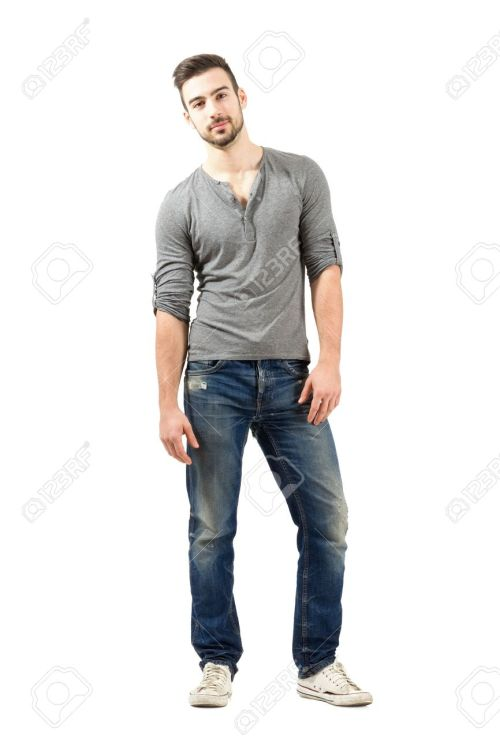 Medium Of Male Model Poses