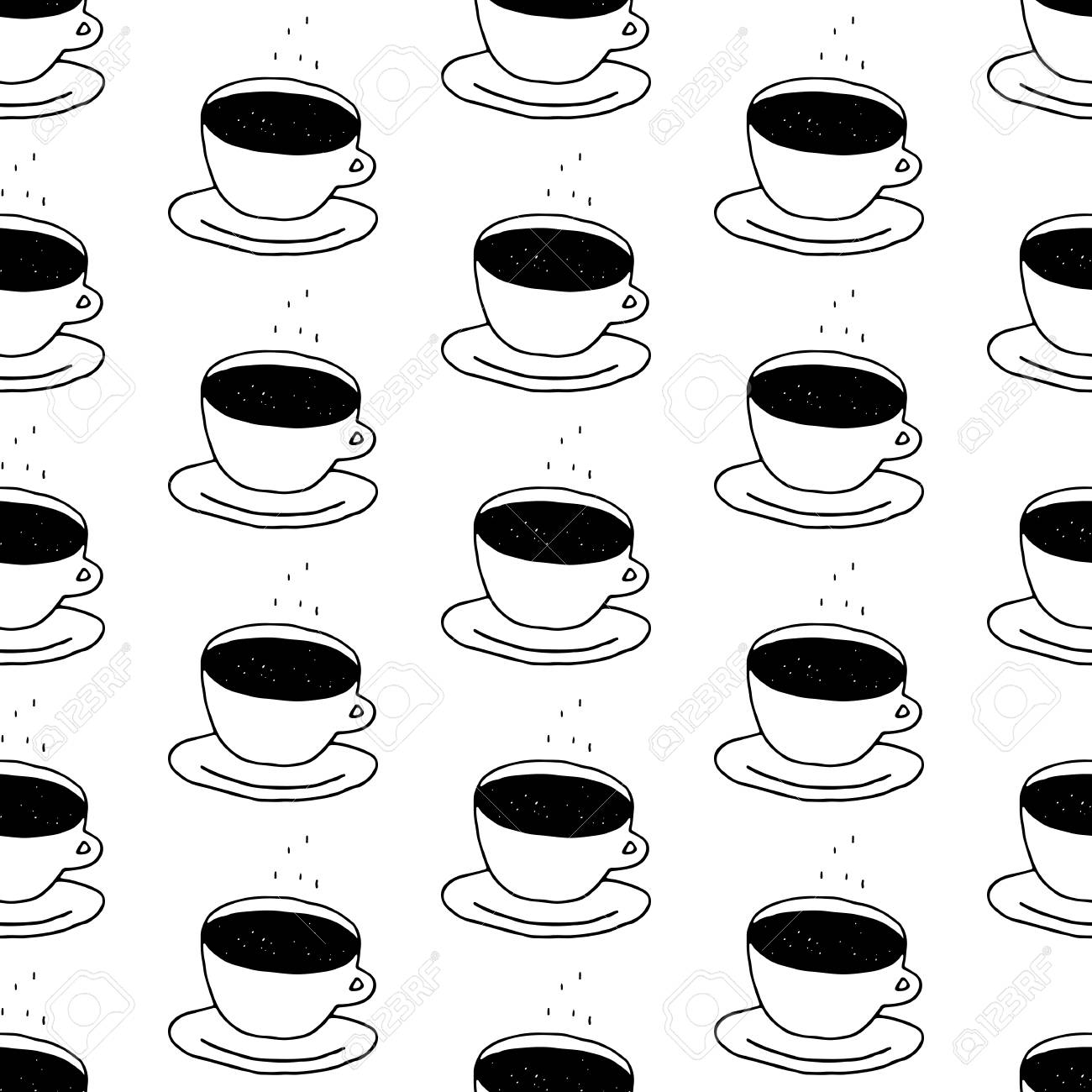 Impressive Hand Drawn Coffee Black Hand Drawn Coffee Black Coffee Cup Pattern Coffeecup Pattern Coffee Cup Pattern Coffee Cups Coffee Cup Clipart furniture Cute Coffee Cups