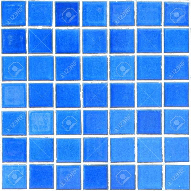 Large Of Blue Mosaic Tile