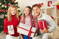 Sparkling Giftboxes Looking At Camera On Daystock Photo Portrait Portrait Giftboxes Looking At Camera Stock Family S Outside Family S Ny Happy Family Happy Family