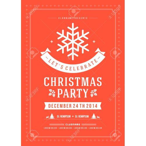 Medium Crop Of Christmas Party Invitation