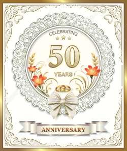 Small Of 50th Wedding Anniversary