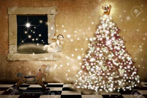 Medium Of The Christmas Card