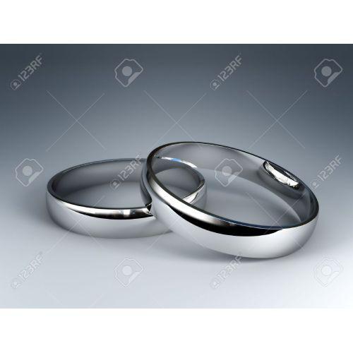 Medium Crop Of Silver Wedding Rings