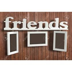 Small Crop Of Friends Picture Frame
