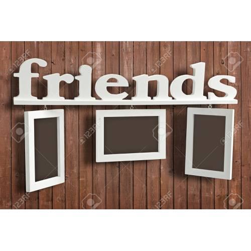Medium Crop Of Friends Picture Frame