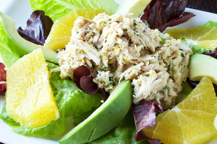 Paleo Citrus-Tarragon Chicken Salad