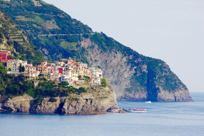 Corniglia, em Cinque Terre, na Itália. Foto: Mariana Gabellini.