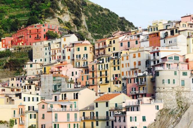 Riomaggiore, em Cinque Terre, na Itália