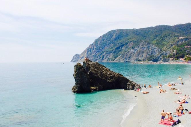 Monterosso al Mare, em Cinque Terre. Foto: Mariana Gabellini.