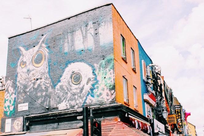 Camden Town - Graffitti