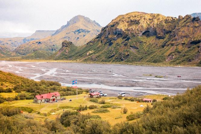Thorsmork - Trekking in Iceland