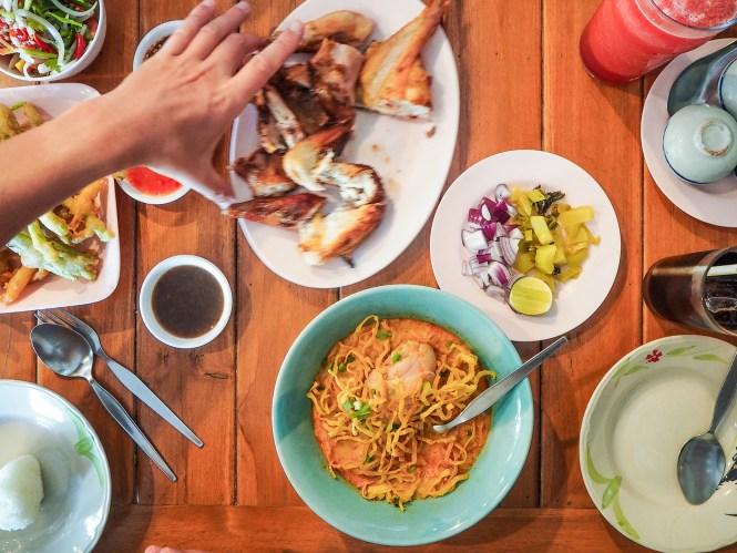Comida Tailandesa - Onde comer em Bangkok