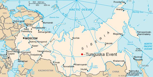 La ubicación de la zona en el mapa actual. Imagen: por Bobby D. Bryant vía Wikimedia Commons.