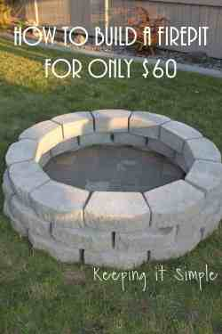 Special How To Build A Fire Pit By Keeping It Crafts Budget Backyardproject Ideas Diy Budget Backyard Ideas Princess Pinky Girl Backyard Landscape Design Tips Backyard Landscape Design Free