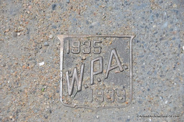 WPA Plaque in Providence RI