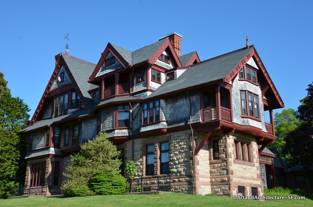 William Watts Sherman House Newport RI