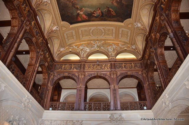 Since ochre court is a university building it is devoid of the furniture and fixings of the home in a way this was nice as it let one enjoy the