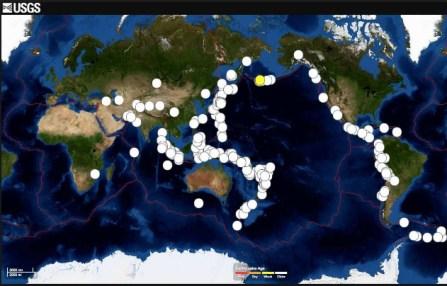 ring of quakes