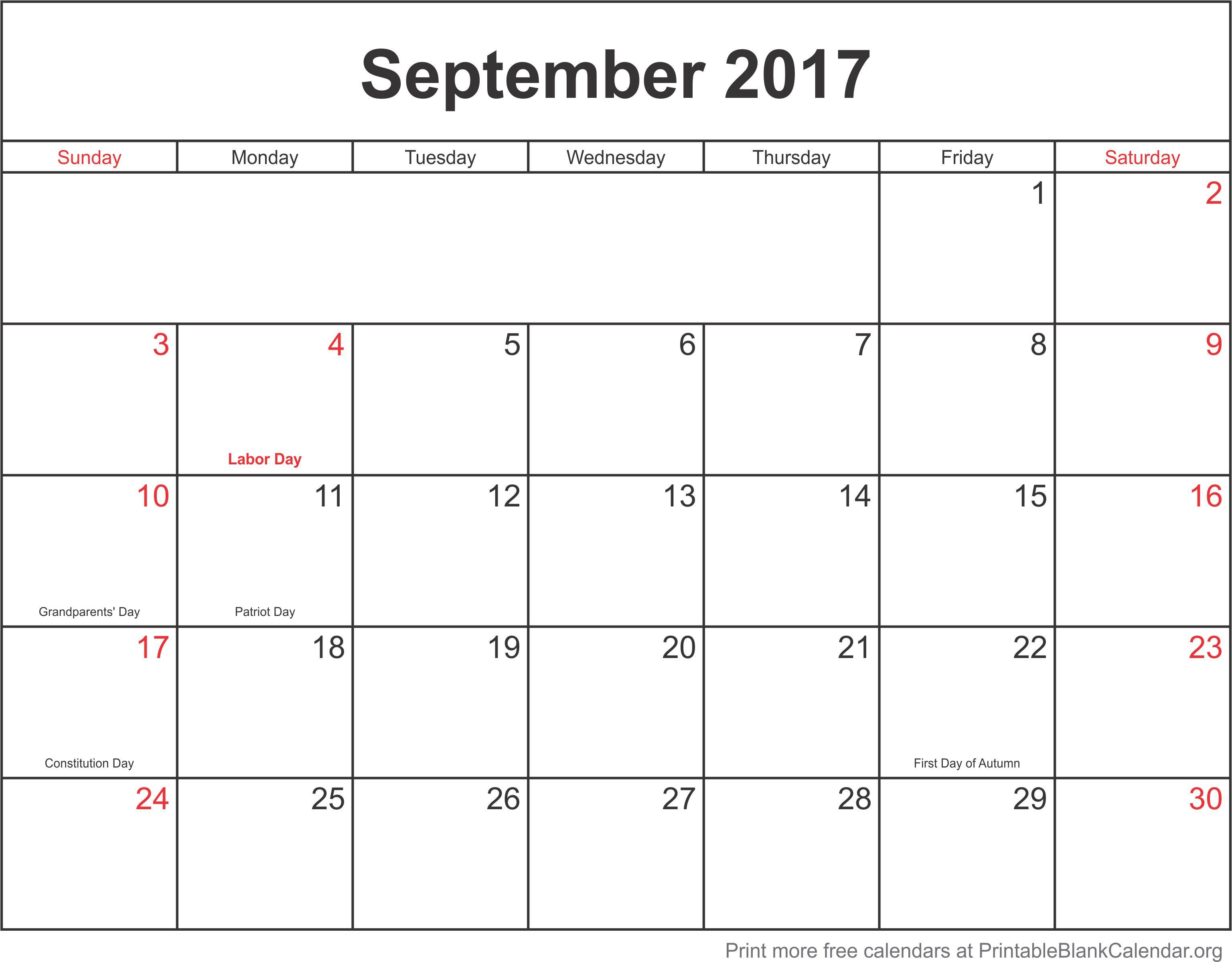 Printable Blank Calendar.org - Free calendar templates