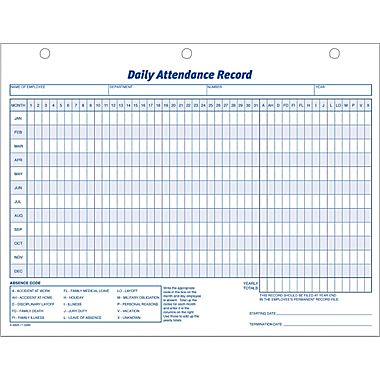 Attendance Sheet For Employees Excel 2016 Printable Calendar Templates