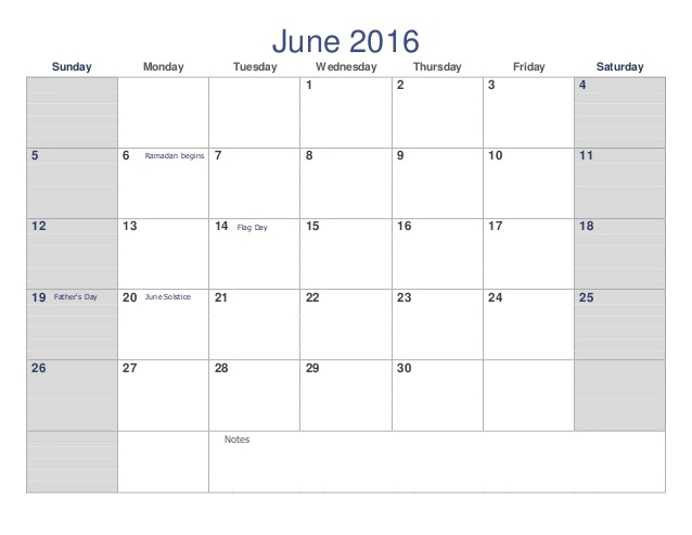June 2016 Weekly Printable Calendar, June 2016 Blank Weekly Templates, June 2016 Blank Weekly Calendar, June 2016 Weekly Calendar Printable, Weekly June 2016 Calendar Templates, June 2016 Editable Weekly Templates,