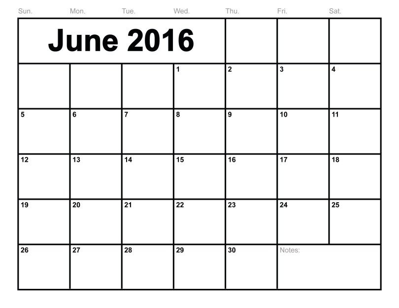 June 2016 Printable Calendar Landscape, June 2016 Blank Templates A4, June 2016 Blank Calendar Portrait, June 2016 Calendar Printable Portrait, June 2016 Calendar Templates A4, June 2016 Editable Templates Landscape