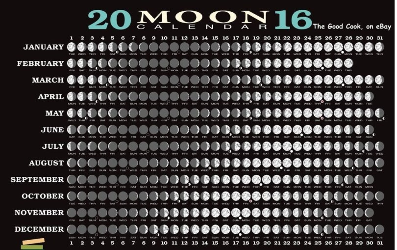 Moon Phases Calendar 2016, moon schedule calendar 2016, moon schedule 2016 Yearly calendar, moon schedule 2016 Yearly calendar