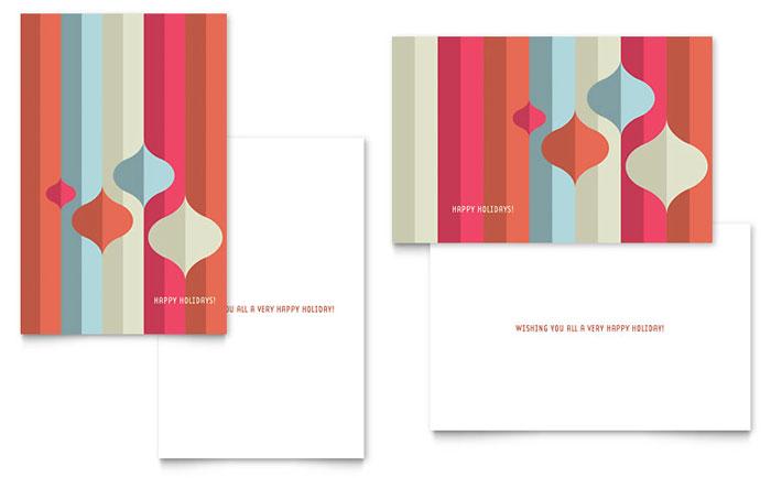 microsoft greeting card templates