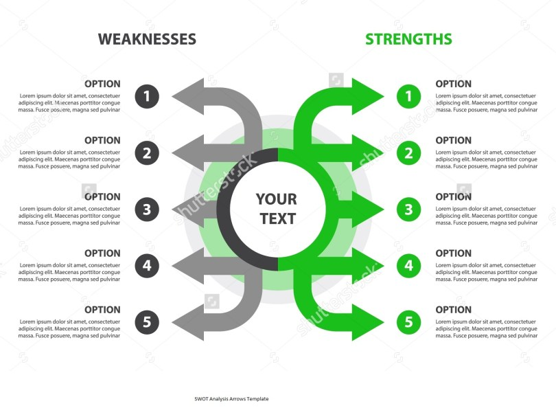 stock-vector-strengths-and-weaknesses-swot-analysis-design-element-grey-and-green-arrows-template-vector-299424200