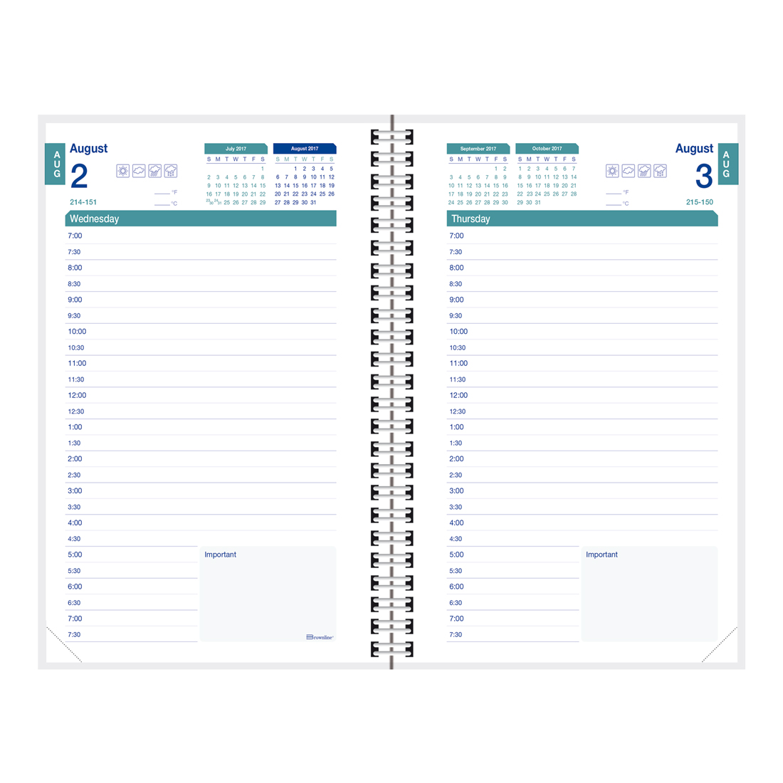 daily school planner template choice image