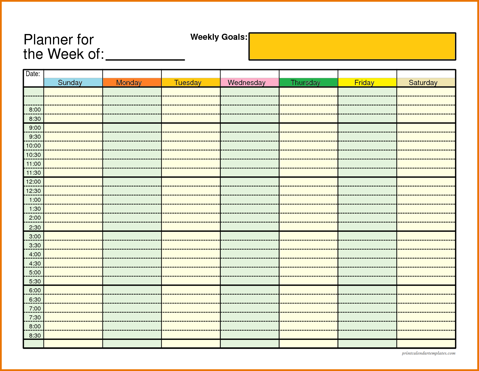 online weekly planner template koni polycode co