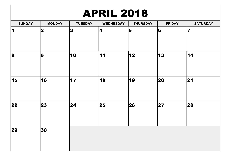 calendar excel format