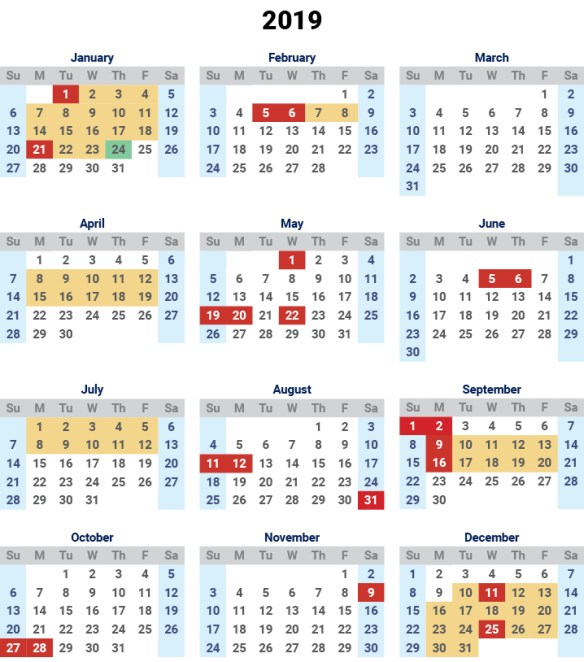 printable calendar 2019 qld queensland template